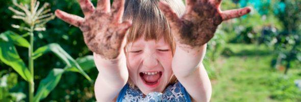 Investigación: Niños sucios = Adultos más saludables