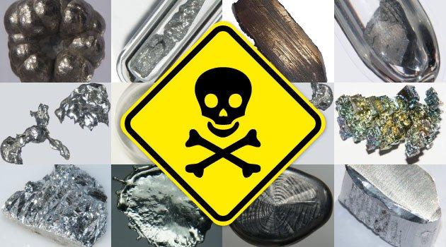 Metales pesados - Las 4 toxinas mas peligrosas para el cerebro