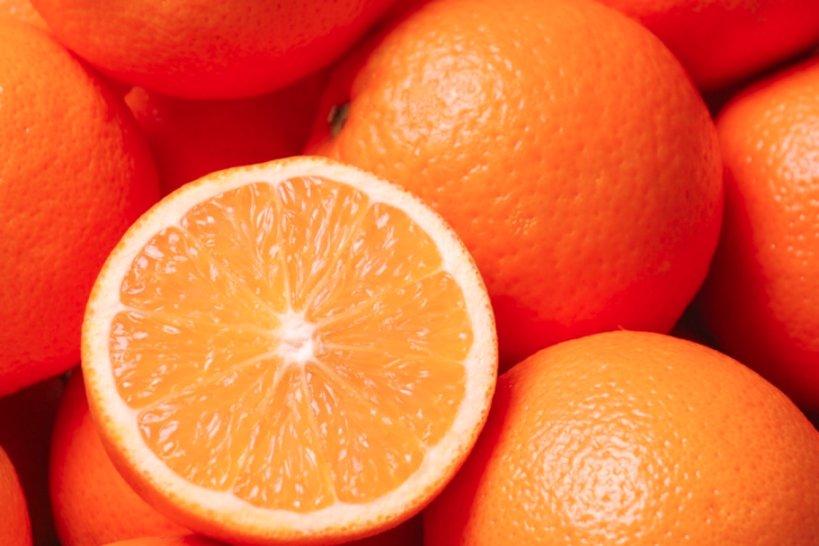 Naranja - Alimentos que reducen el estrés en el trabajo