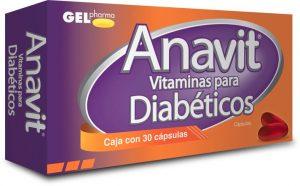 Anavit vitaminas para diabeticos