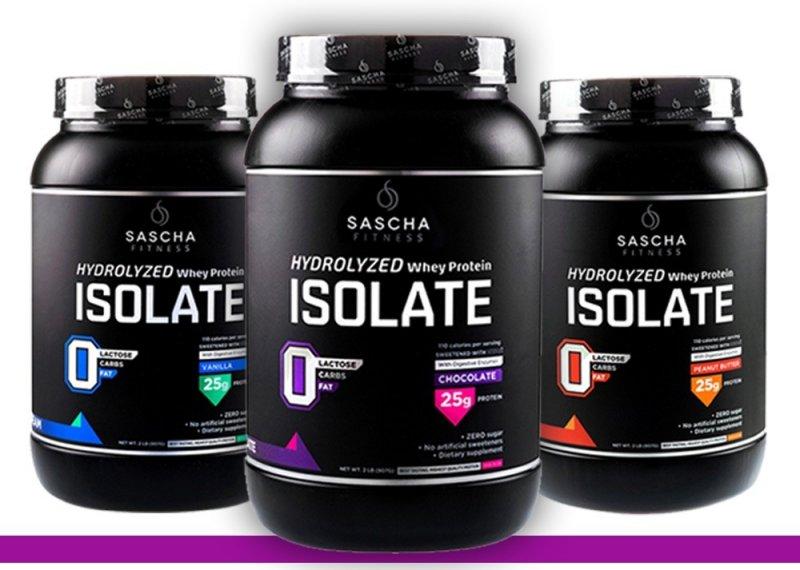 Sascha Fitness el mejor suplemento de proteína 2018