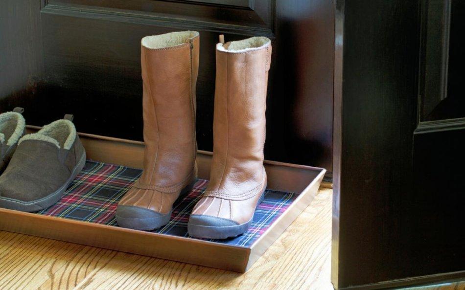 Llegar a casa y no dejar los zapatos fuera