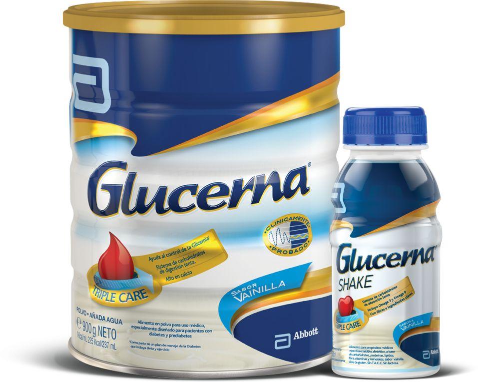 Glucerna se vende en dos presentaciones