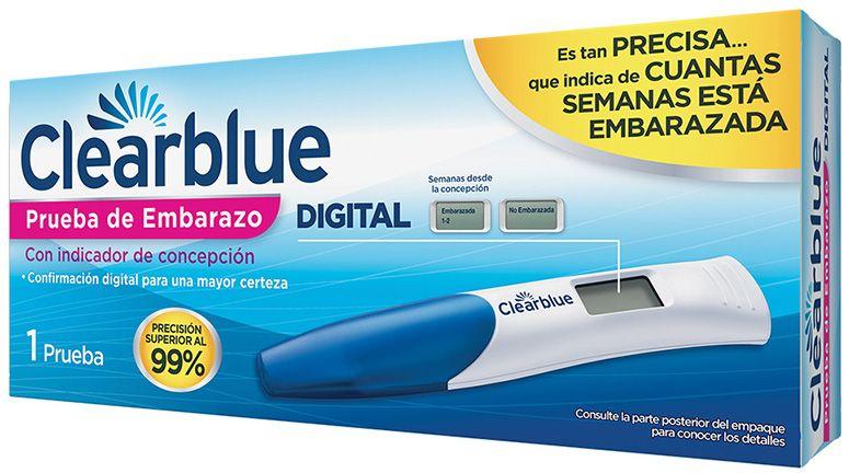 ClearBlue test de embarazo | precio | alternativas