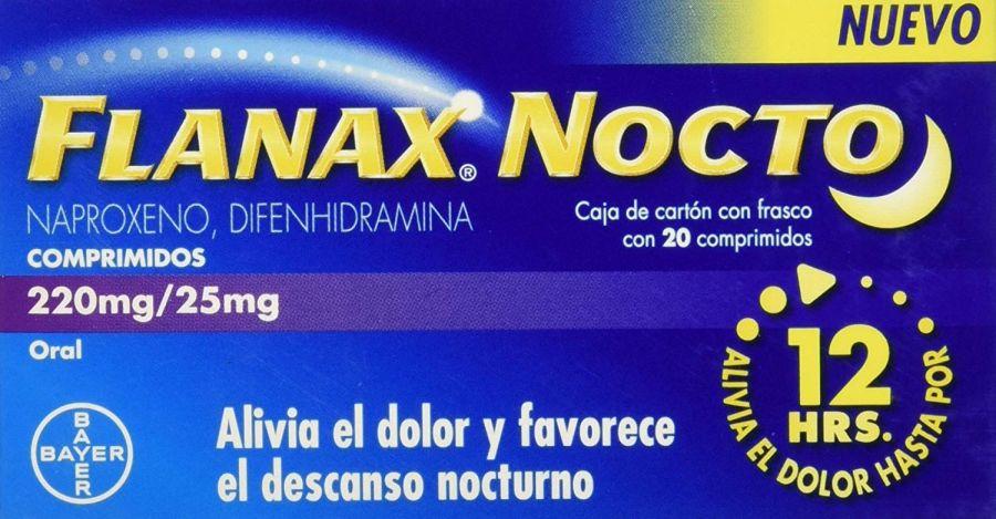 Flanax Nocto ¿Funciona? | precio | dosis | fórmula