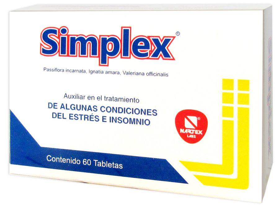 Smplex pastillas para dormir