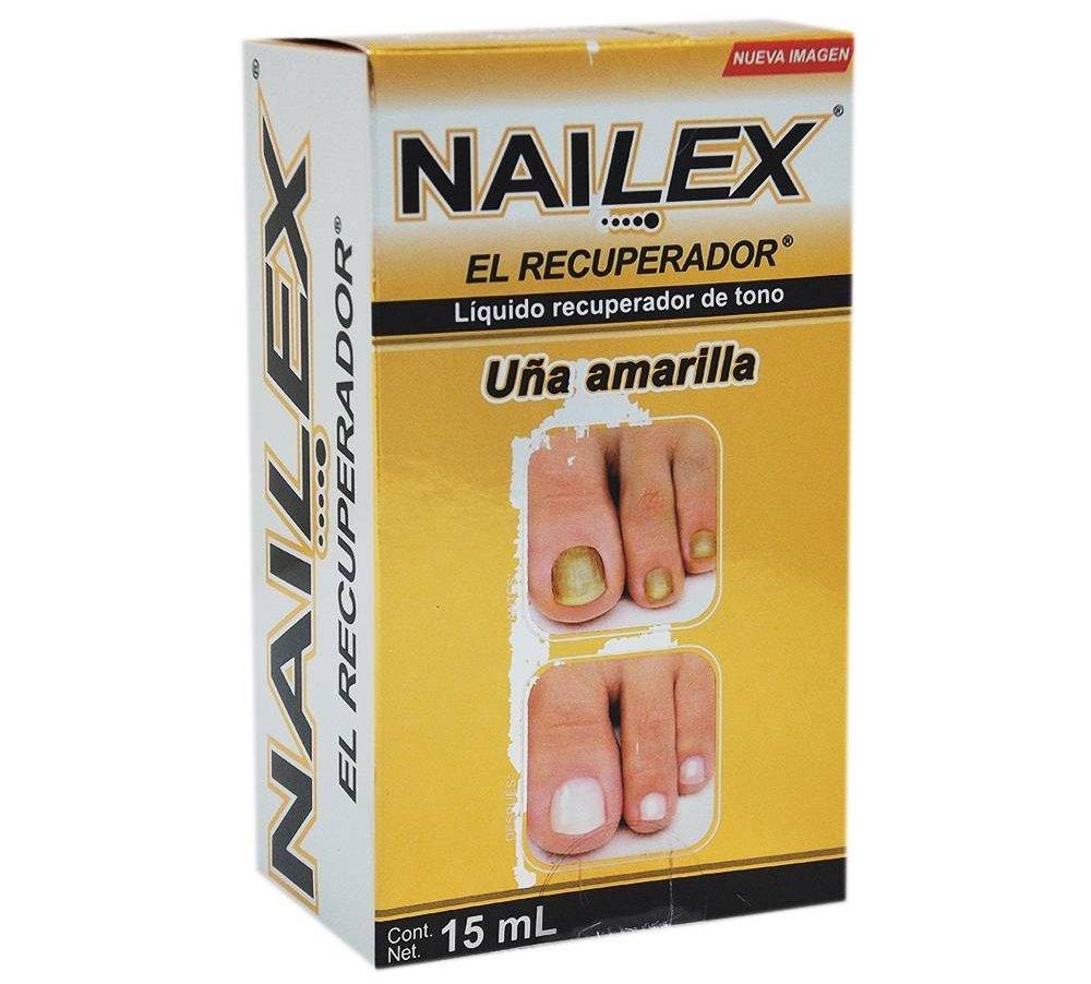 nailex uñas amarillas funciona